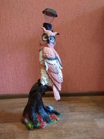 Фигурка совы( с фонариком)