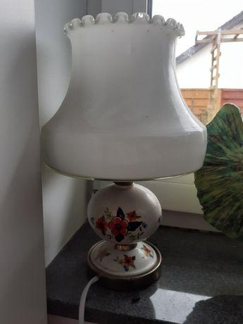 Lampa porcelanowa