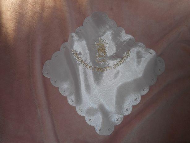 szatka pamiątka chrztu świętego chusteczka do chrztu