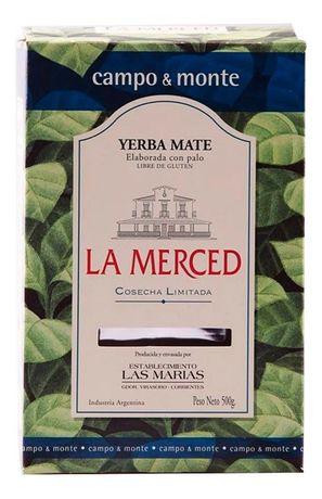 Аргентинский матэ La Merced de Campo & Monte - 500 грамм