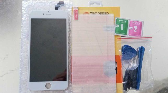 Ecrã LCD iPhone 6 Plus, 6S - Novo +vidro temperado