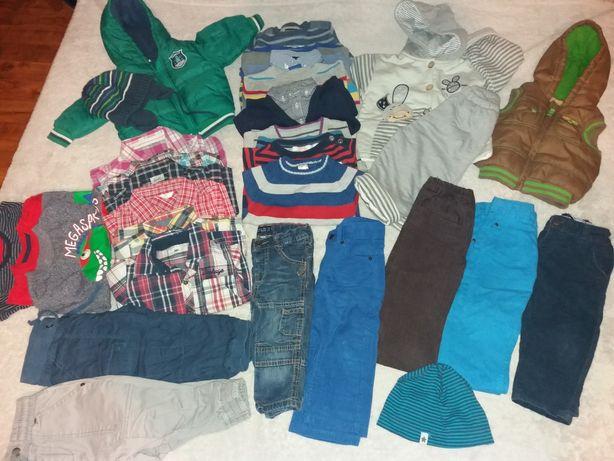 Paka ubrań chłopiec 6-12miesięcy