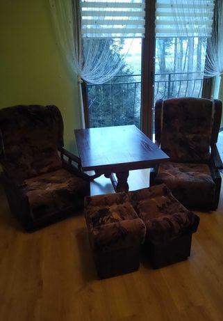 Komplet fotele + ławostół