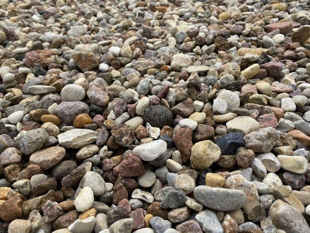 Żwir otoczak 8-32, kamień drenażowy, kamień ogrodowy