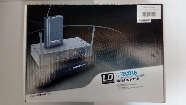 SKLEP NOWY Mikrofon bezprzewodowy krawatowy LD Systems ECO 16 BPL