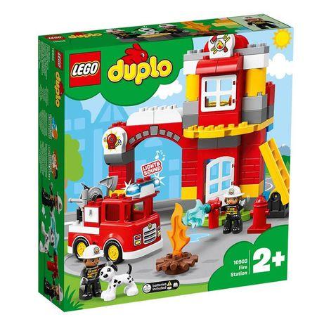 Конструктор Lego DUPLO Городок Пожарное депо 76 деталей