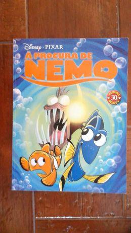 Livro BD À Procura de Nemo