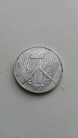 Монета 5 PFENNIG 1952г.