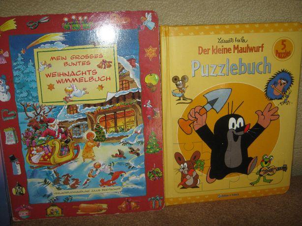 детская книга пазл на немецком языке