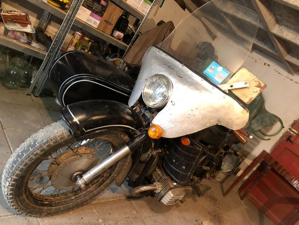 Мотоцикл МТ-11 с коляской
