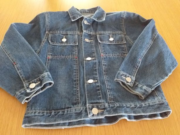 Kurtka jeans uniseks.  Roz. 140 KANION