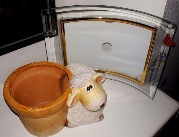 Фоторамка 13х18 стекло (кашпо с овечкой с фото продано!)