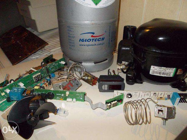 Naprawa lodówek i urządzeń chłodniczych. Montaż i serwis klimatyzacji.