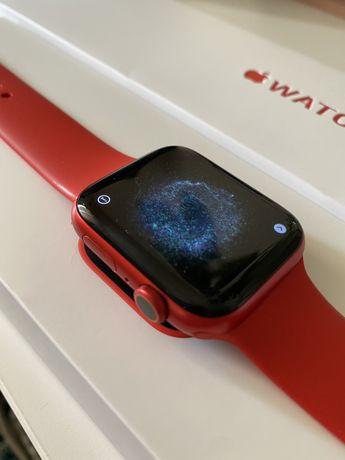 Apple watch series 6 red 44mm c/ garantia