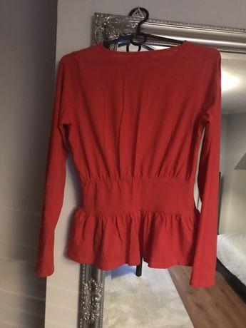 Czerwonka koszulka na długi rekaw
