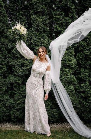 Suknia ślubna KAMILA - secret angel