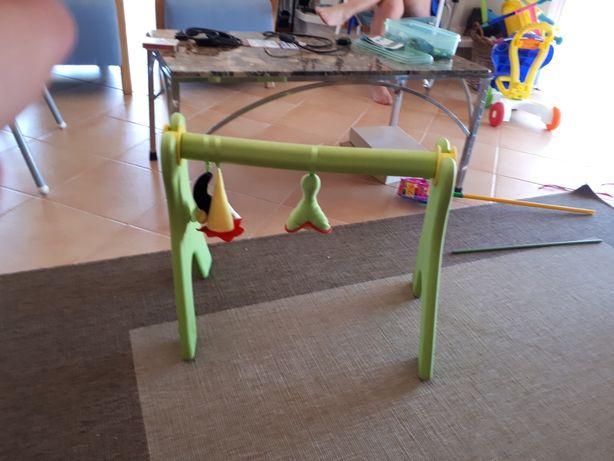 Ginásio para bebés em boracha