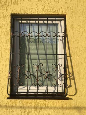 Решетки металлические кованные на окна и двери
