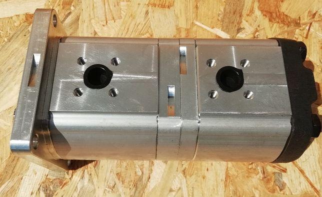 Pompa hydrauliczna podwójna lewa Case New holland Steyr