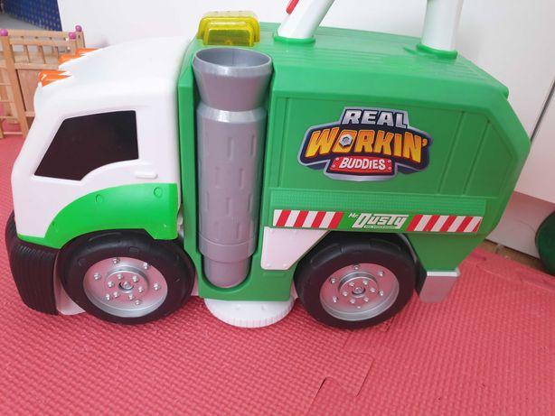 Mr Dusty #Cieżarówka sprzątająca drobne zabawki