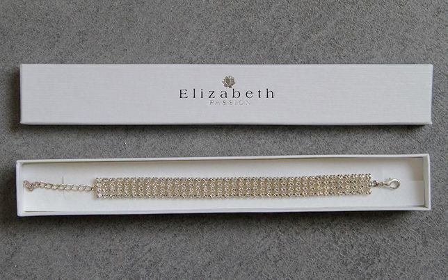 Bransoletka ślubna Elizabeth Passion biżuteria ślubna do kompletu!