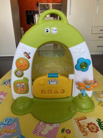 Интерактивная коляска игровой домик Smoby