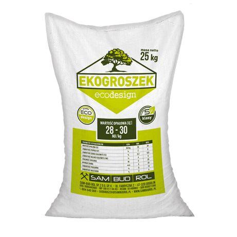 Ekogroszek Ecodesign worki 25 kg (DZI)