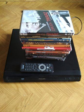 Odtwarzacz DVD Philips plus 13 filmów