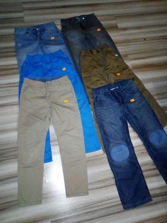 spodnie chłopięce 7-8lat