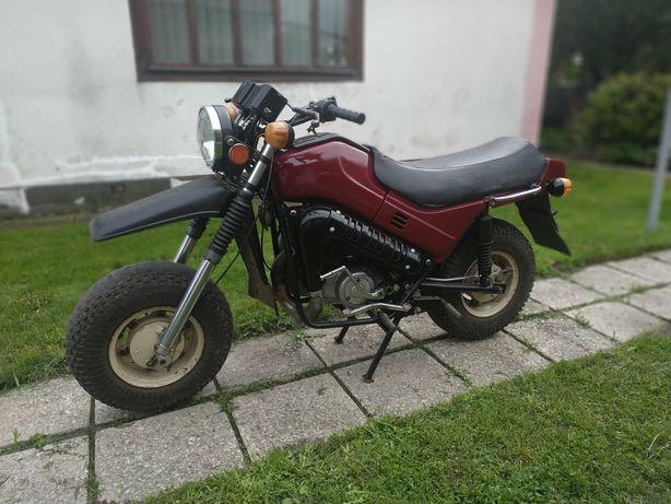 Мотоцикл тула з документами
