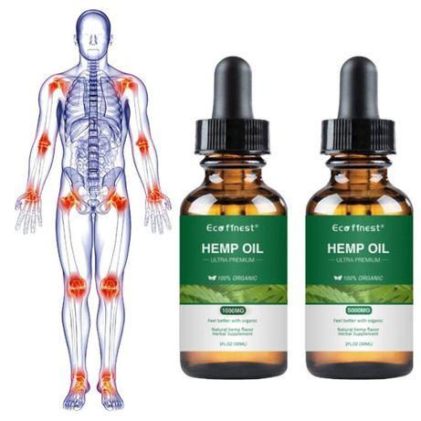Naturalny olej konpony CBD 5% 30 ml bezsenność, bóle, skóra, choroby