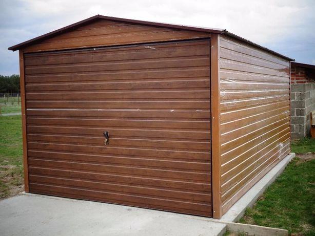 Garaż BLASZANY Blaszak WZMOCNIONY Garaże na budowę PRODUCENT garaży