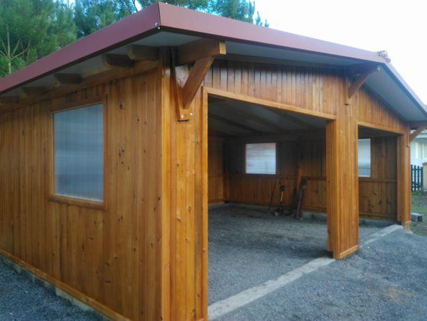 abrigo de jardim / garagem - Madeira&Conforto