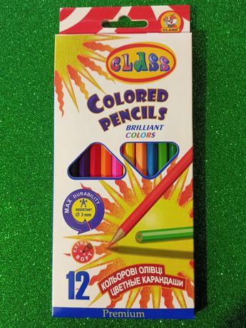 Продам цветные карандаши CLASS