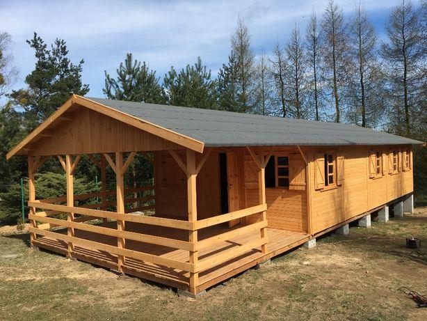 domek drewniany domki drewniane altanki działkowy letniskowy WARBIT