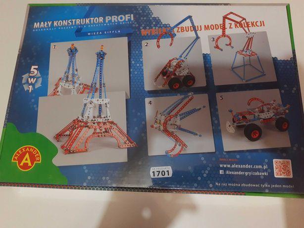 Mały konstruktor -wieża Eiffla - Nowa