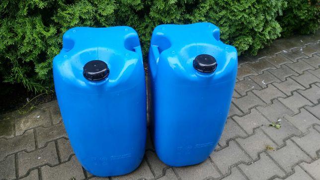 Kanister Plastikowy 60 L Beczka  Na Paliwo Wodę