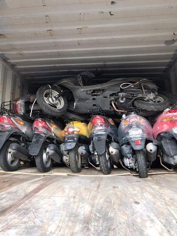 Японские скутеры, мопеды, без пробега по Украине. Новая партия