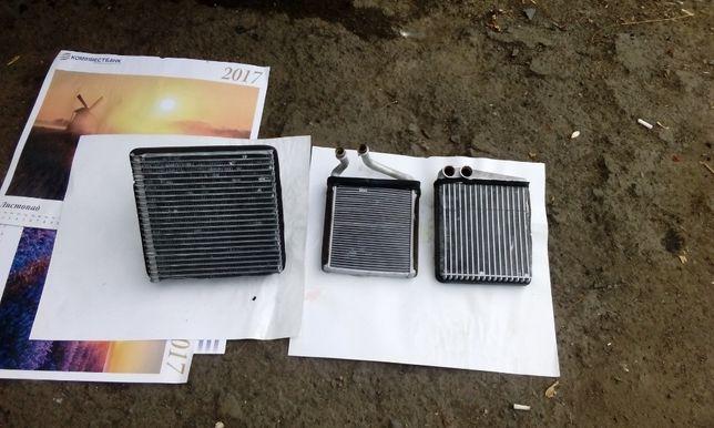Радиатор печки кондиционера на vw golf 5