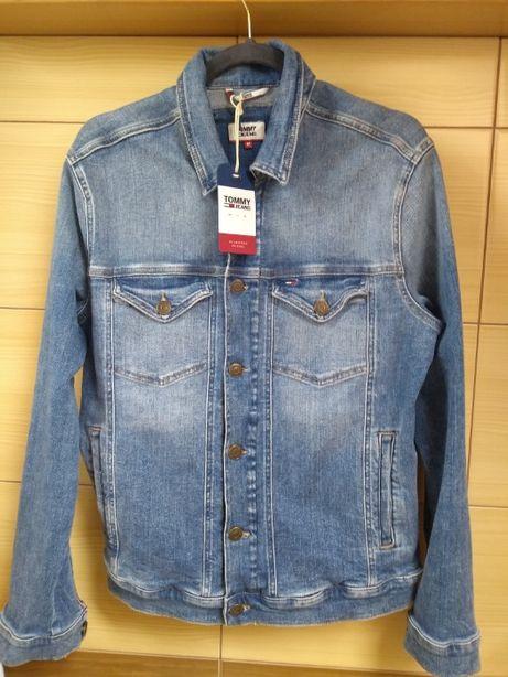 Kurtka jeansowa ORYGINALNA-NOWA unisex marki Tommy Hilfiger- rozmiar M