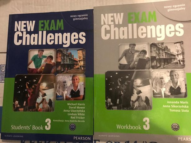 New Exam Challenges 3 Pearson Student's Book + Workbook NOWY