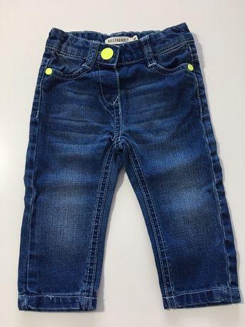 Spodenki jeansy dla dziecka rozmiar 74