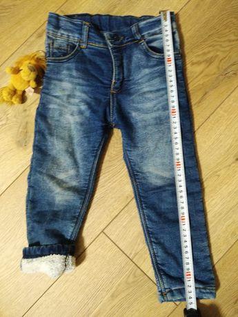 Штани джинси дитячі на махрі