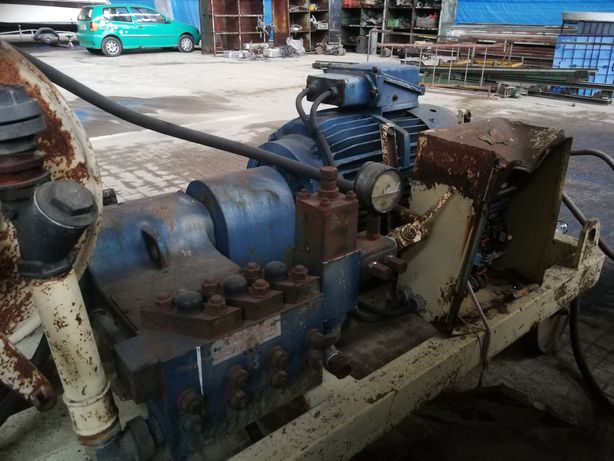 Pompa wodna wysokociśnieniowa 370bar 55KW