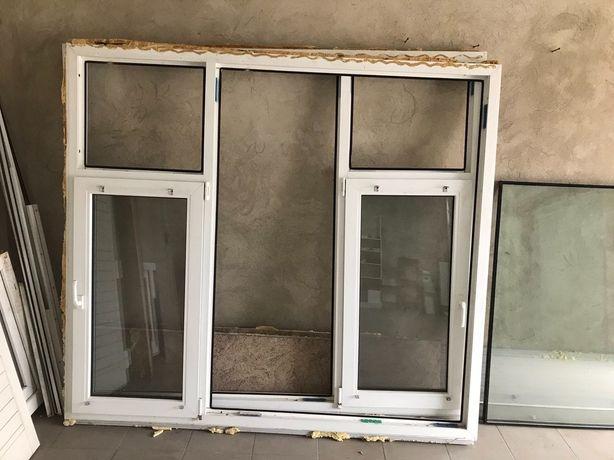 Окна металлопластиковые б/у