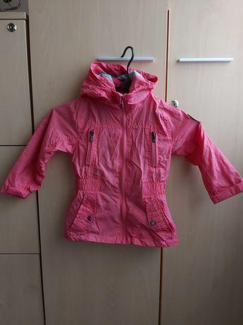 Kurtka wiatrówka różowa dziewczynka rozmiar 92-98