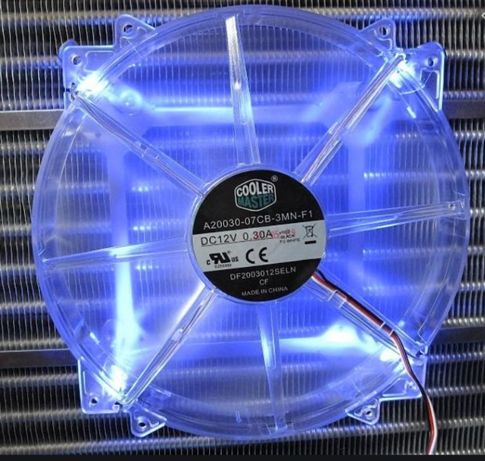 Вентилятор Cooler Master MegaFlow 200 Blue