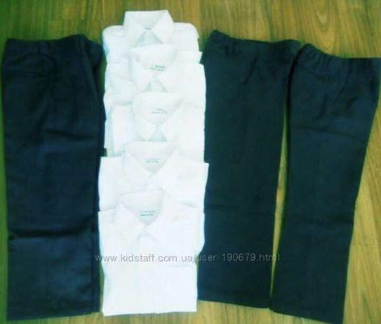 Брюки, рубашки и жилетка M&S