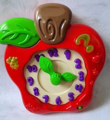 Годинник Музыкальное яблоко-часы chad valley розвивалка