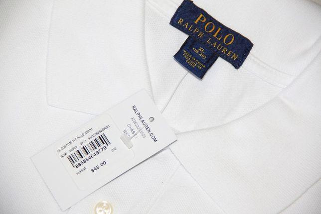 Новое поло Polo Ralph Lauren лонгслив гольф футболка длинный рукав